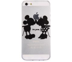 Kryt s Mickey Mousem a Minnie Mouse (iPhone 5/5S)